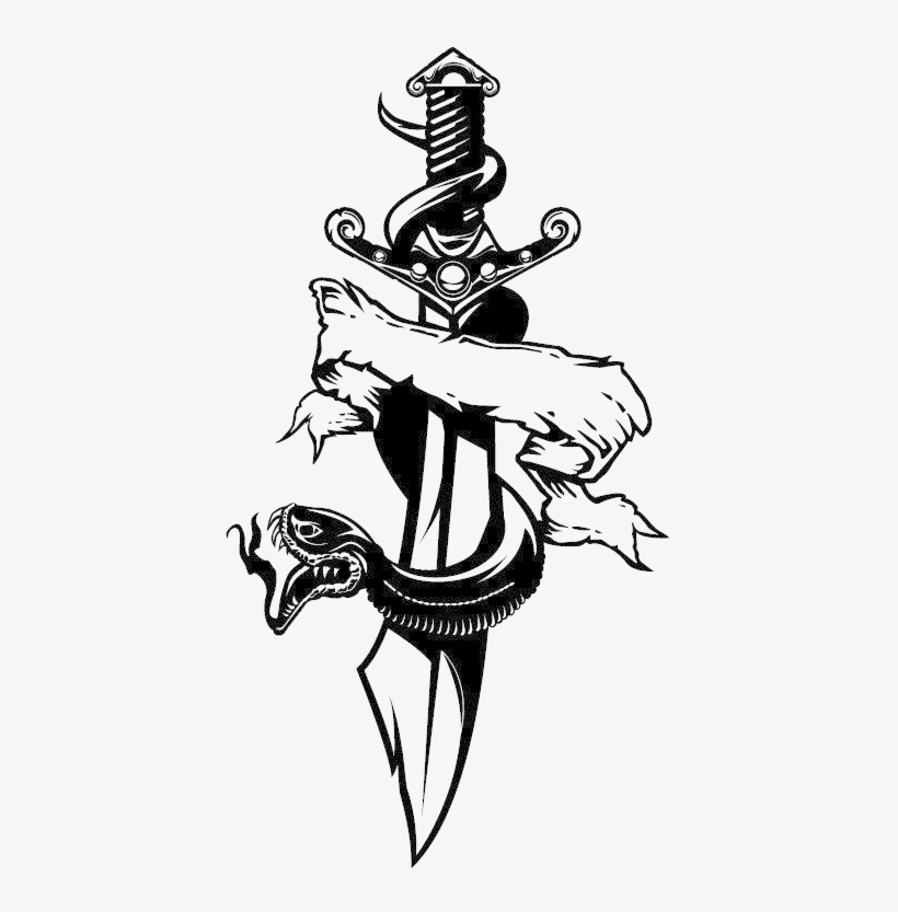 Skull Tattoo Png Photo , Vector Tattoo Design Png , Free