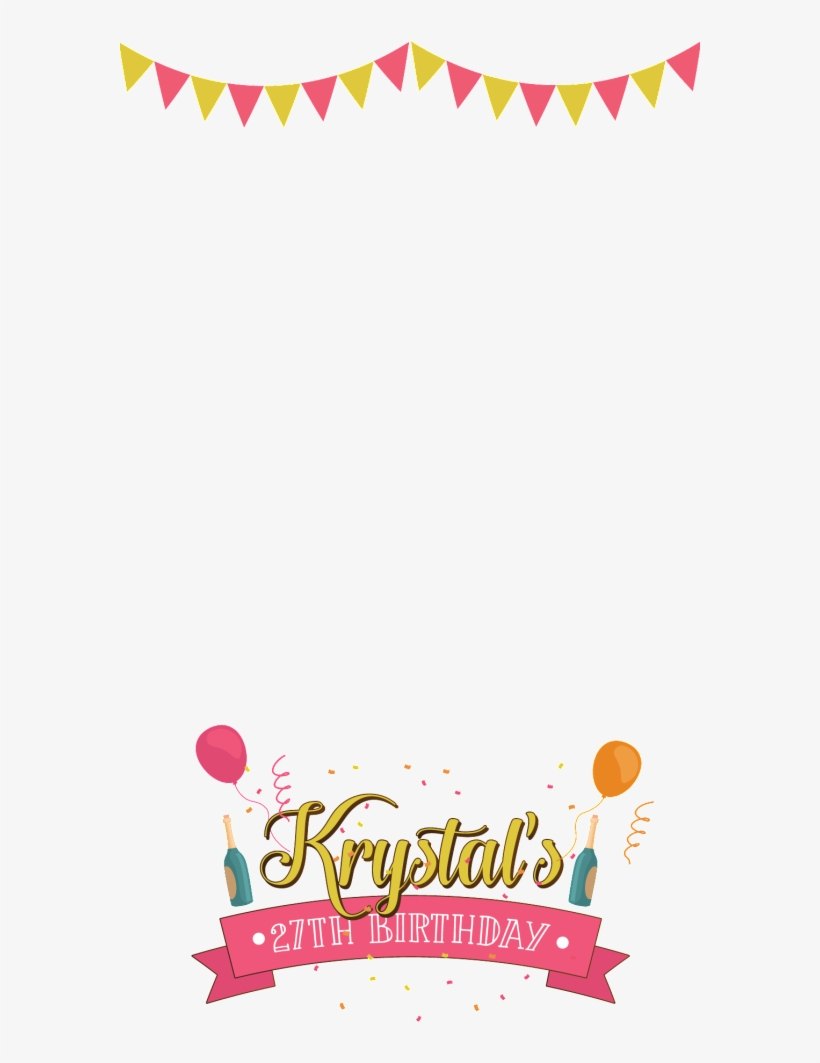 Snapchat Filters Clipart Love - Party Filter Snapchat Png
