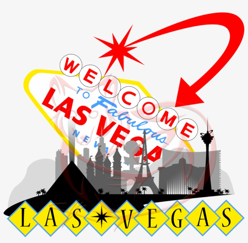 Svg Transparent Las Vegas Clipart Illustration - Welcome To Las Vegas Sign, transparent png #631091