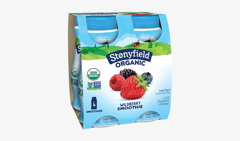 Low Fat Wild Berry Smoothie - Stonyfield Yogurt Smoothie Strawberry, transparent png #632314