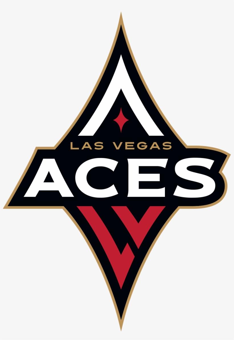 File Las Aces Logo Svg Wikipedia Filelas - Las Vegas Aces Logo Wnba, transparent png #633141