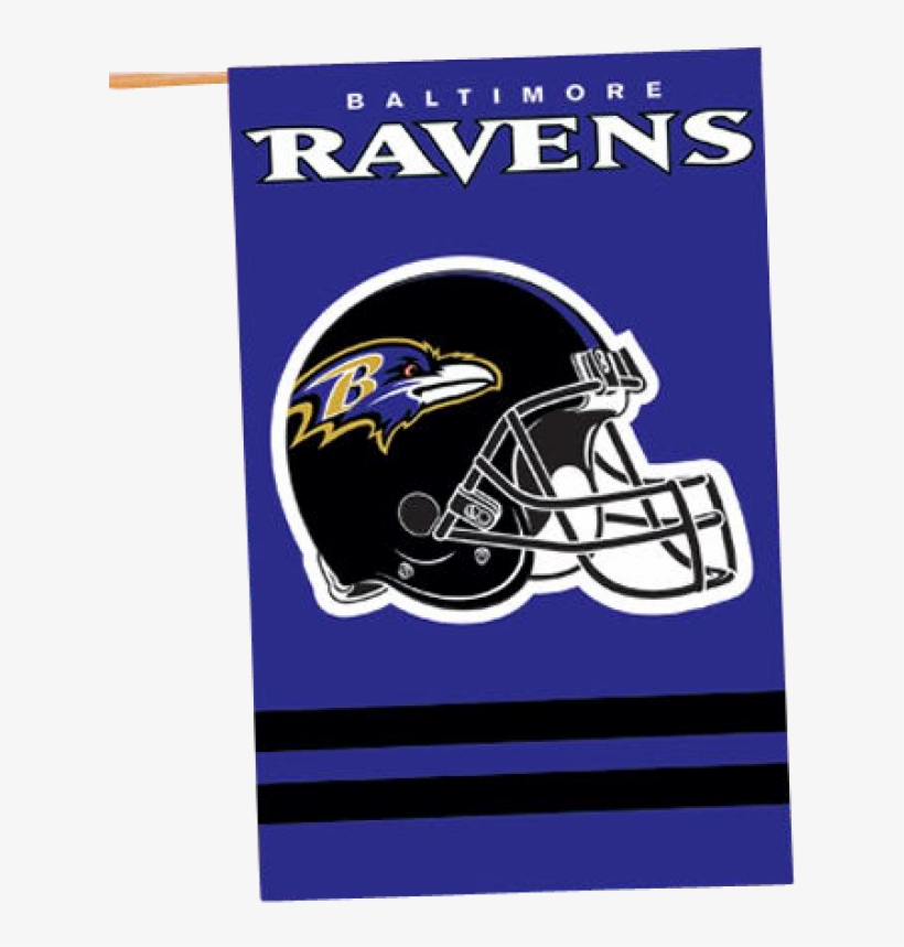 Nfl Baltimore Ravens Banner House Flag - Baltimore Ravens Banner Flag, transparent png #633723