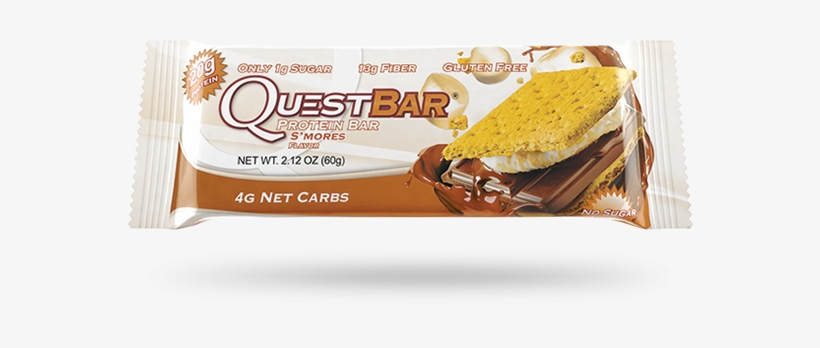 Quest Nutrition Quest Bar - Quest Nutrition Quest Protein Bars - S'mores - Single, transparent png #634923