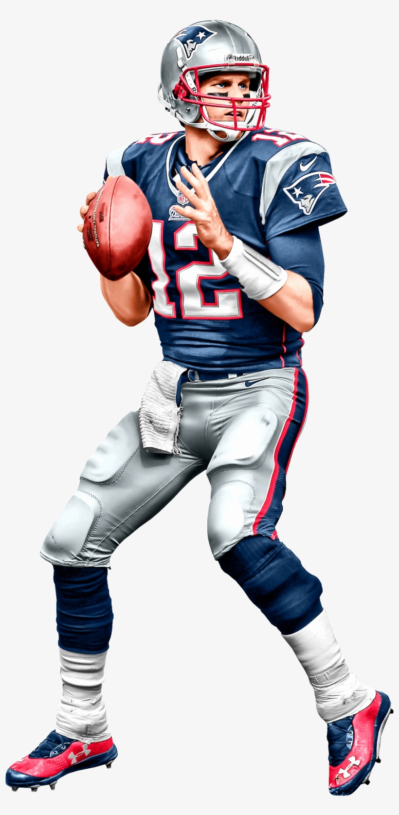 Tom Brady Patriots Png - American Football, transparent png #635008