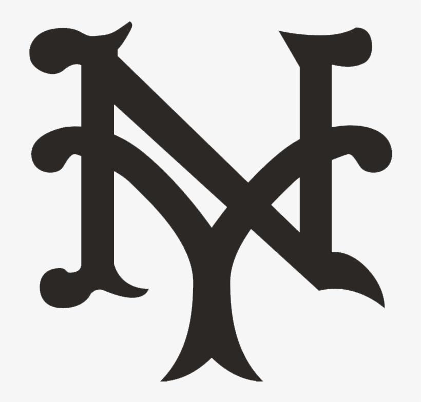 New York Giants - New York Giants Baseball Logo, transparent png #636312