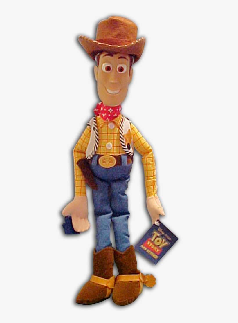 Disney's Toy Story Woody Large Plush Rag Doll - Woody Toy Story Stuff Toy, transparent png #637152