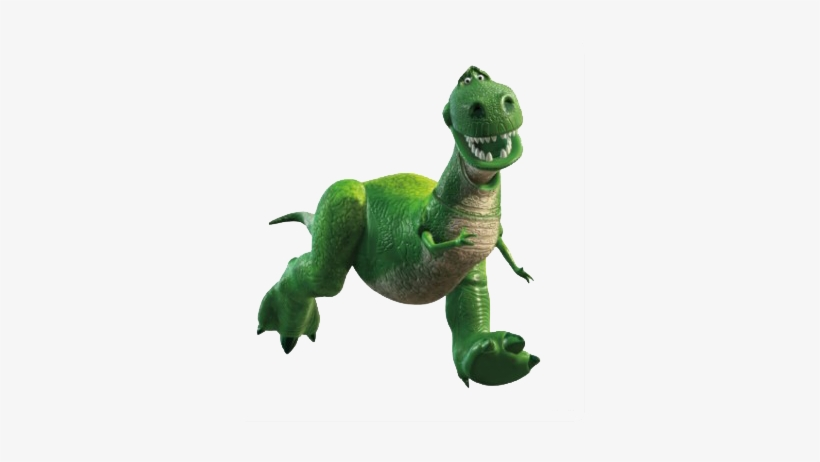 Toy Story Logo - Toy Story Characters Rex, transparent png #637955
