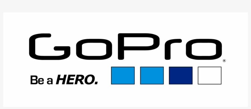 Lettering White Of Gopro Logo - Go Pro, transparent png #638726