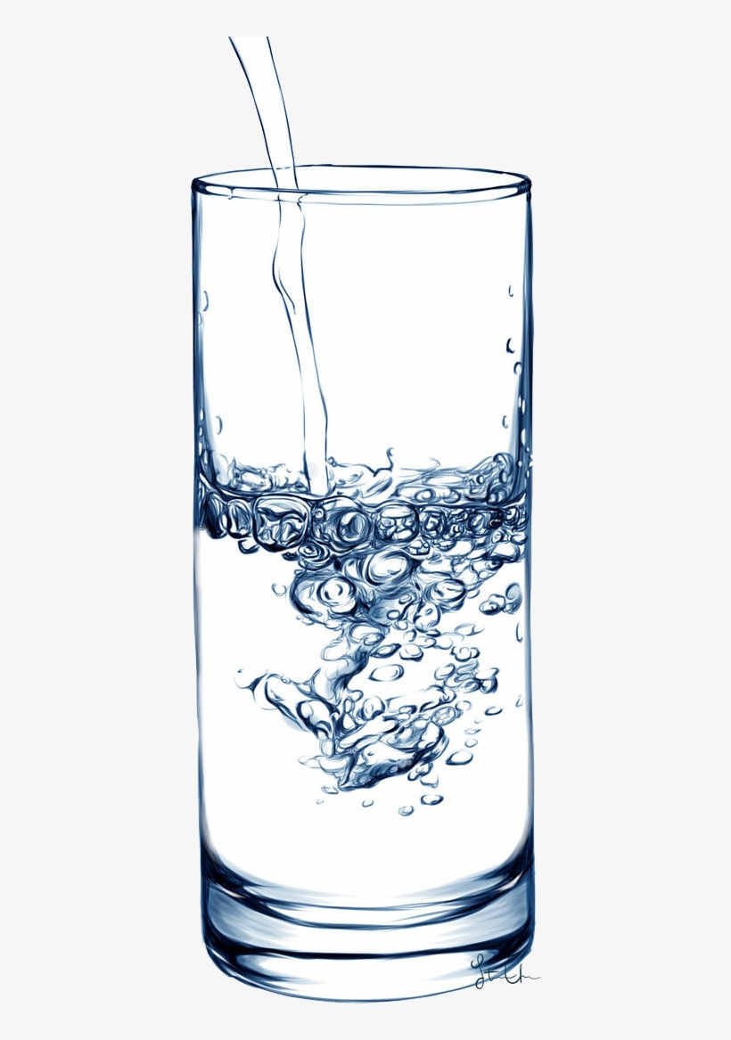 Cup Of Water Png Graphic Freeuse Download - Water, transparent png #638775