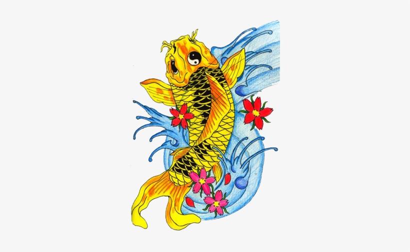Fish Tattoos Free Png - Koi Fish Tattoo Transparent, transparent png #639242