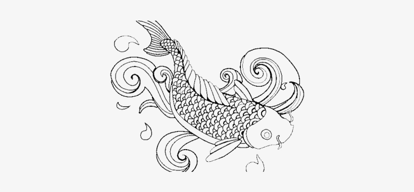 Clipart Royalty Free Stock Coloring Ideas K Pictures - Colouring Page Fish Coloring, transparent png #639884