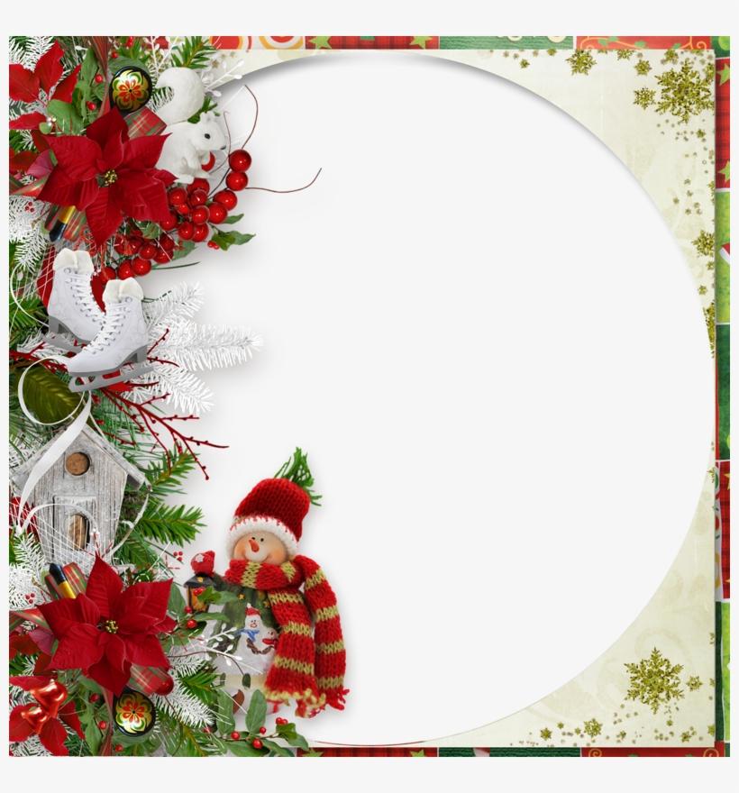 The Joy Of Christmas - Frame Christmas Frame Png, transparent png #6301784
