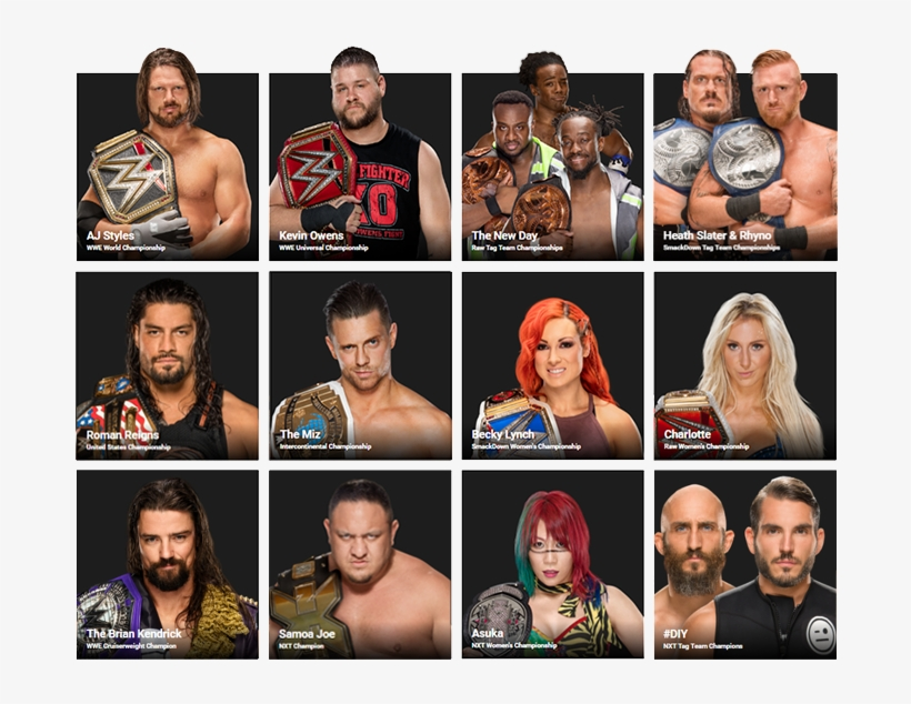 I Had A Title Ready For The Wwe Discussion Thread But - Raw Tag Team Champions Current, transparent png #6303853