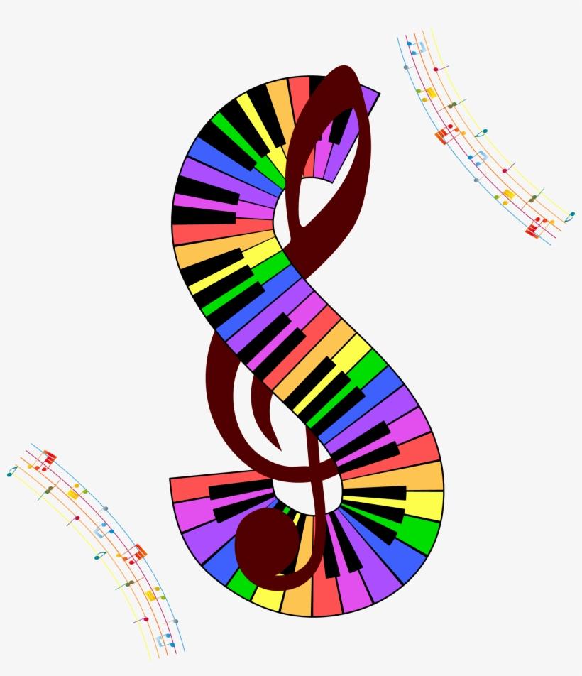 Musical Note Staff Clef - Símbolo De La Musica, transparent png #6320774