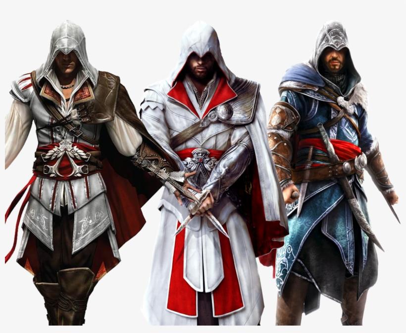 Assassin's Creed, Saga, Videogames, Truths - Assassin's Creed 2 Ezio Auditore Da Firenze, transparent png #6343215