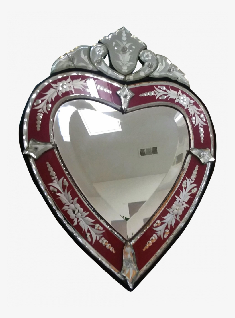 Find Out Full Gallery Of Beautiful Venetian Heart Mirror Venice Free Transparent Png Download Pngkey