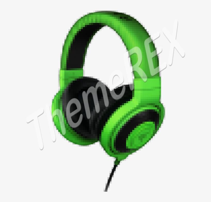 Razer Kraken Gaming Headphones - Razer - Kraken Over-ear Gaming Headset - Black, transparent png #6359269