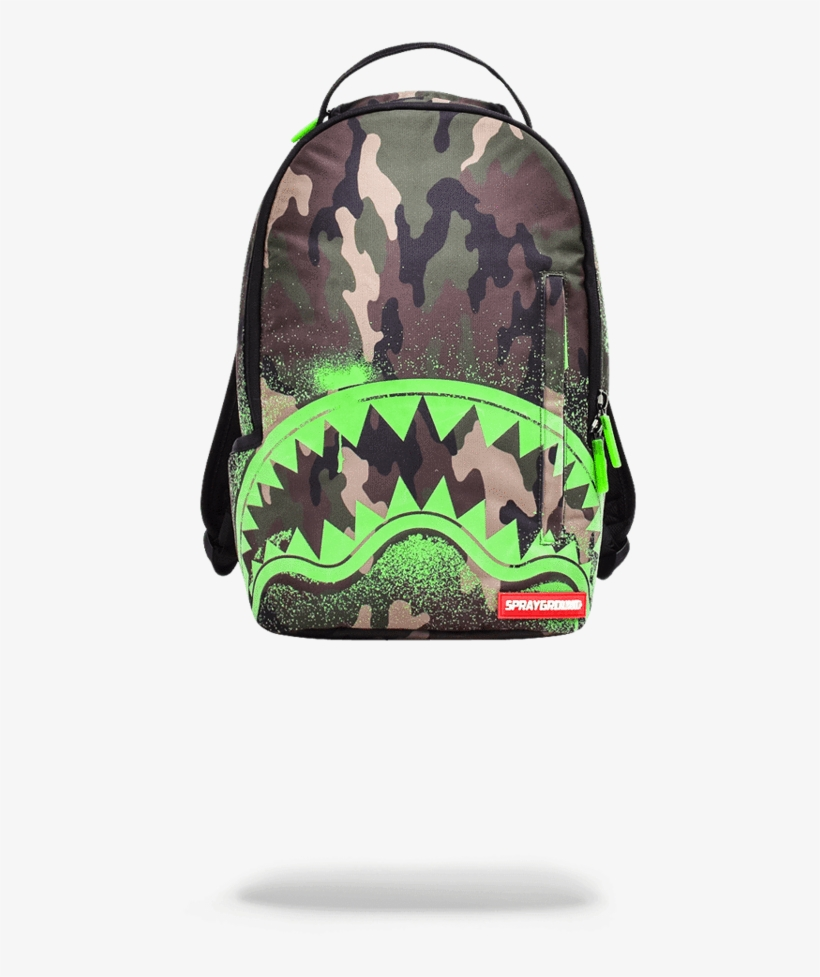 78e082eb502c Sprayground Jarvis Landry Camo Shark Backpack - Sprayground Glow In The  Dark Shark Backpack