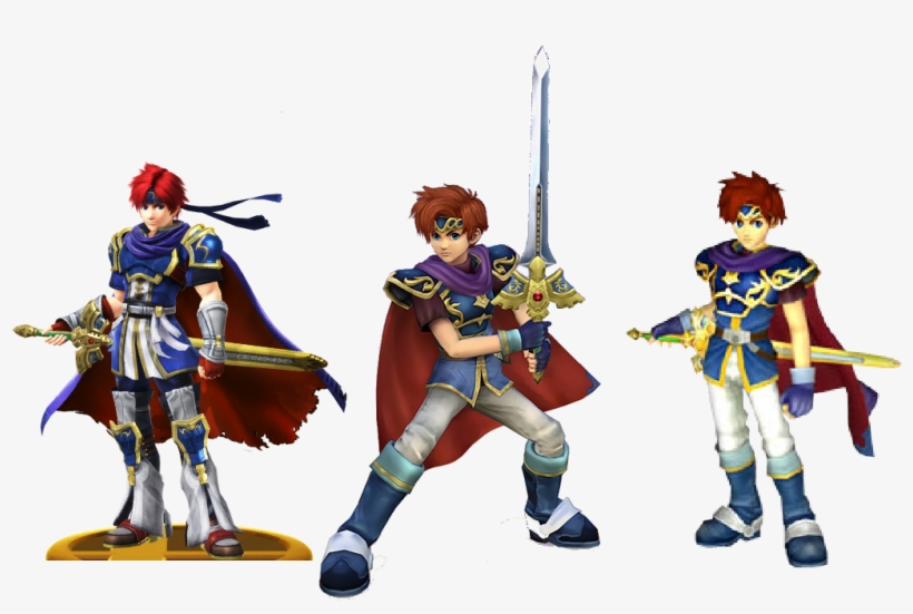 Roy's Designs In Smash Because Why The Fuck Not - Amiibo Super Smash Bros Brawl, transparent png #6369553