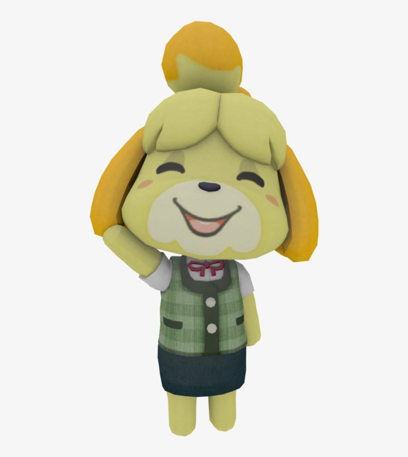 Render Test By Theadorableoshawott - New Leaf Ssb4 Animal Crossing Isabelle, transparent png #6379663
