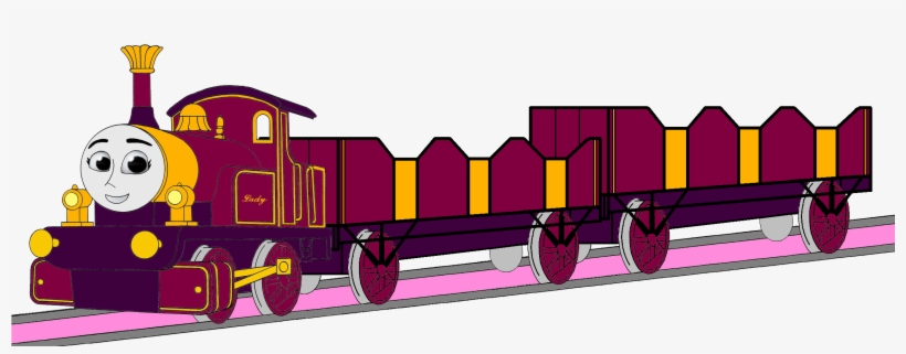 Thomas The Tank Engine Images Lady With Her Double - Open Railway Carriage, transparent png #6392787