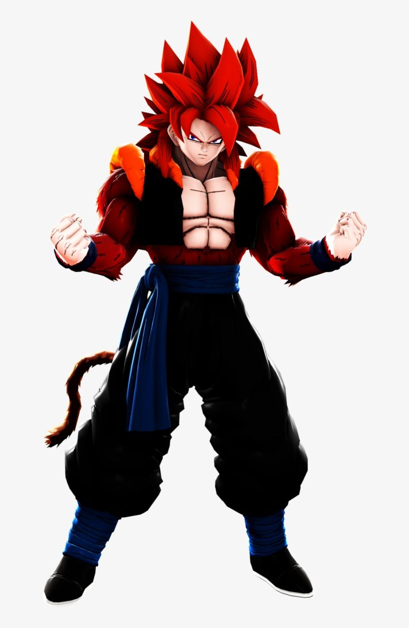 Gogeta Xeno Super Saiyajin Fase 4 Dragonball Z Epic King