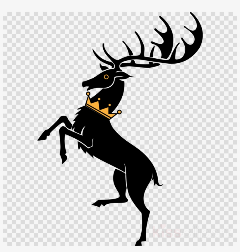 House Baratheon Sigil Clipart Robert Baratheon Daenerys - Game Of Thrones Sigils Baratheon, transparent png #6396092