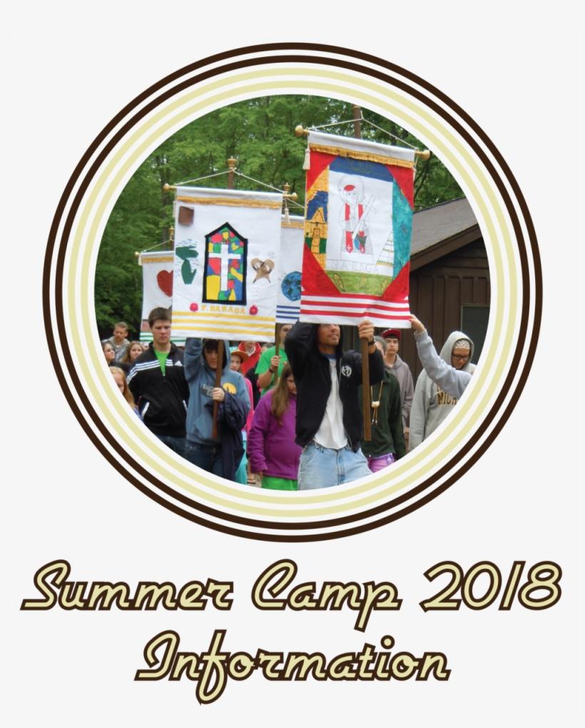 Template Ai Summer Camp Info Button - Summer Camp, transparent png #6398085