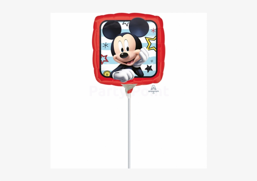 23 Cm-es Mickey Roadster Racers Fólia Lufi - Disney Junior Mickey Mouse Clubhouse Copy Colouring, transparent png #6398333