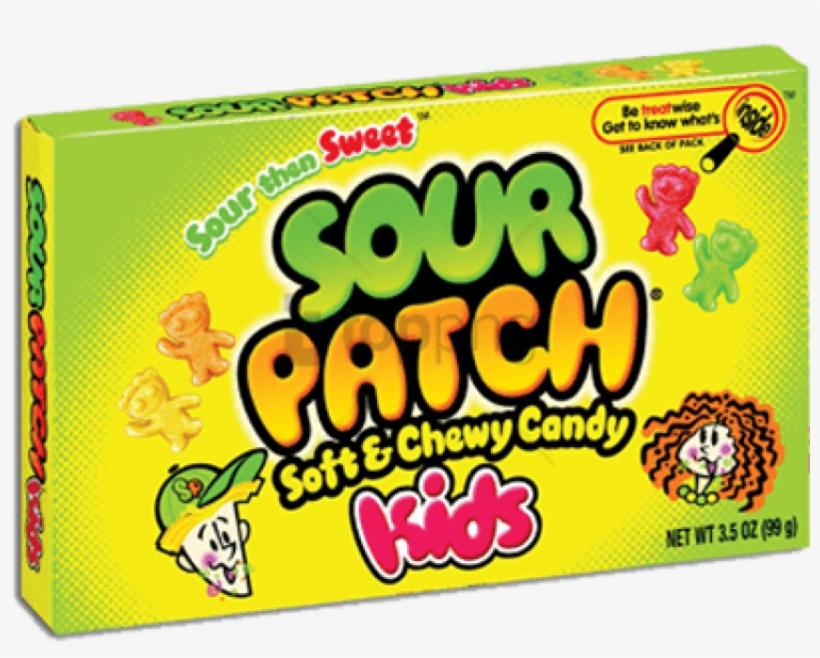 Sour Patch Kids - Sour Patch Kids Watermelon, transparent png #641189