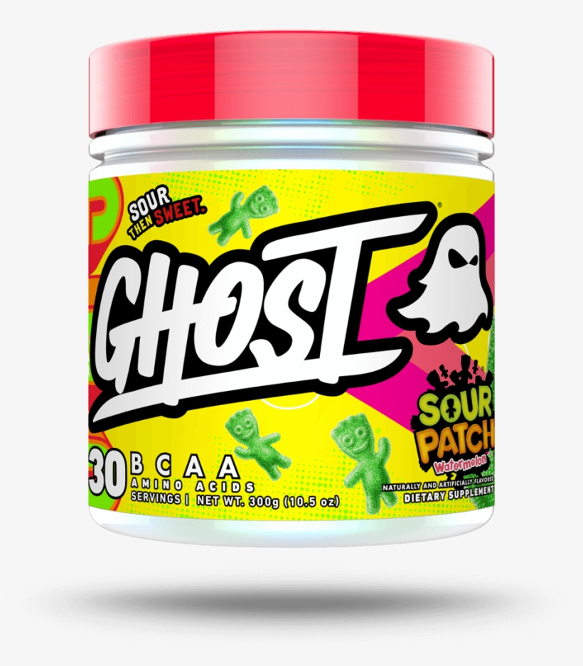 Ghost® Bcaa X Sour Patch Kids® 30 Servings - Ghost Bcaa, transparent png #641329
