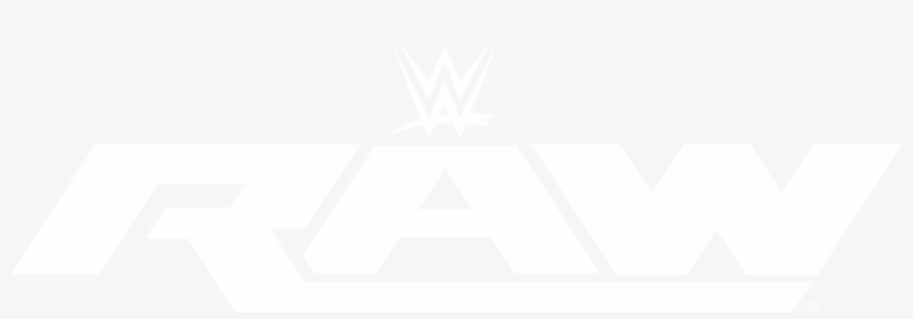 Raw Flat Logo Cut By Danger Liam - Wwe Raw Logo White, transparent png #643010