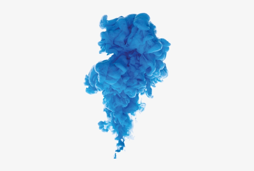 Blue Smoke Png - Blue Color Smoke Png, transparent png #644046