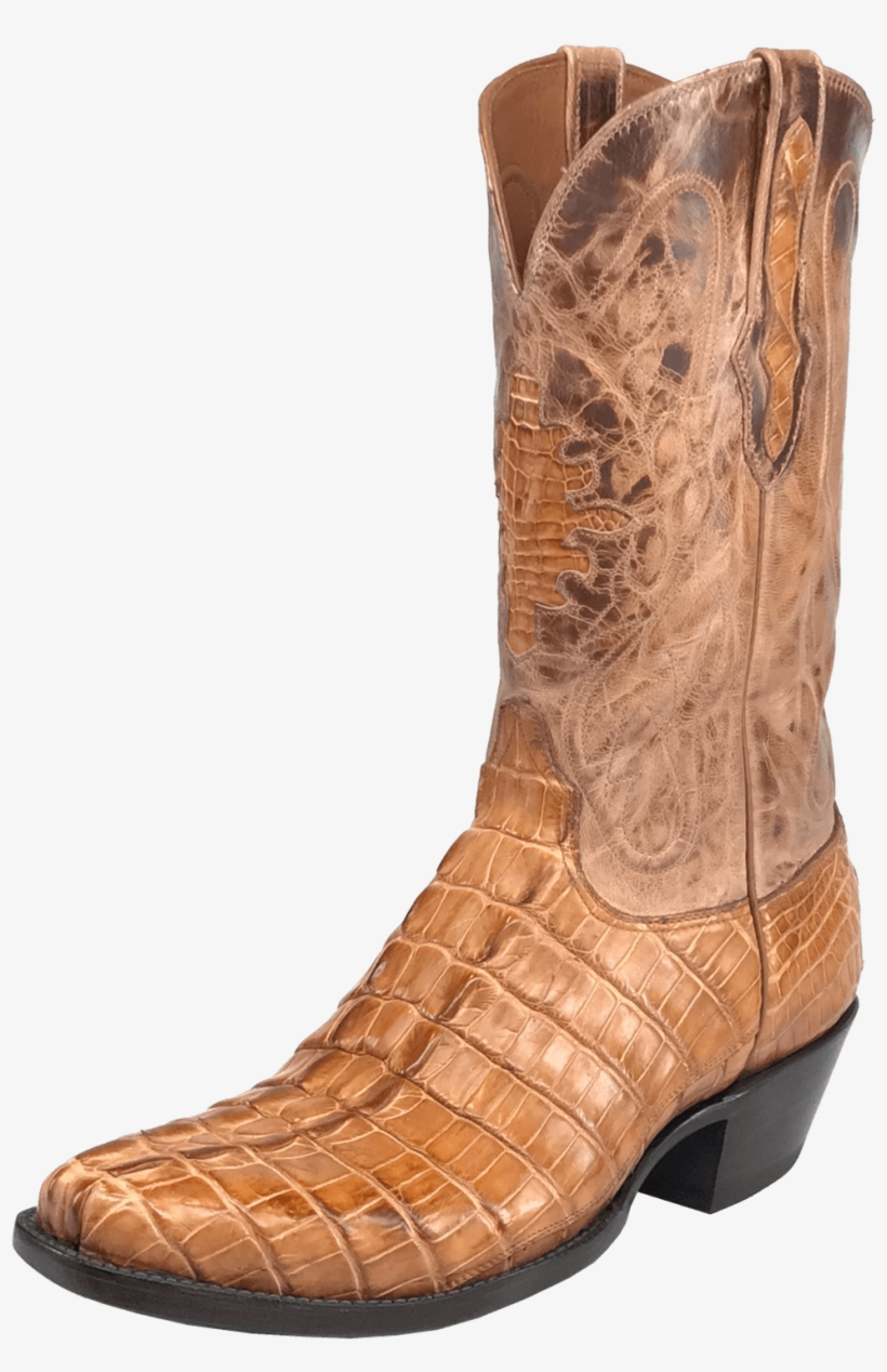 Black Jack Men's American Gator Tail Western Scallop - American Boots Cowboy, transparent png #644395