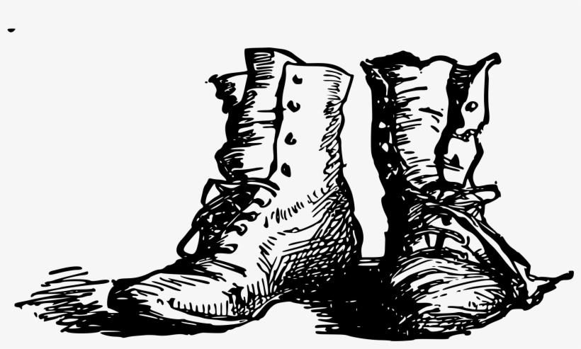 Wellington Boot Shoe Line Art Drawing - Boots Line Art, transparent png #644535