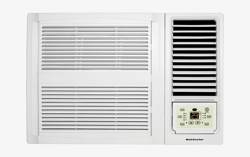 Kelvinator Kwh26cre Window Wall Cooling Only Air Conditioner - Kelvinator Kwh26cre 2.7kw Window Box Air Conditioner, transparent png #645242