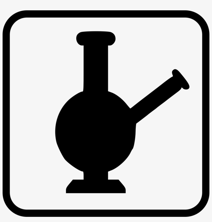 If You Like To Smoke Weed, You Probably Have Used A - Bong Clipart Png, transparent png #645627