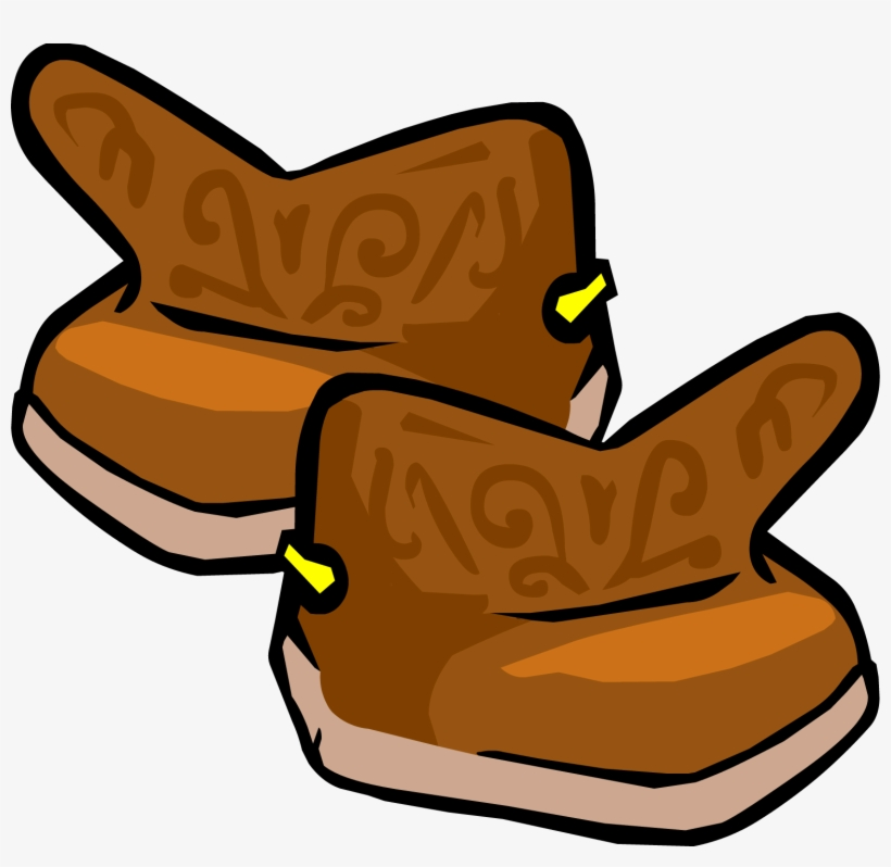 Cowboy Boots - Boots Club Penguin, transparent png #645841