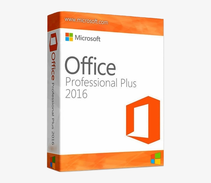 Microsoft Office 2016 Professional Plus For Windows - Microsoft Office 2016 Pro Professional Plus Cd-key, transparent png #646234