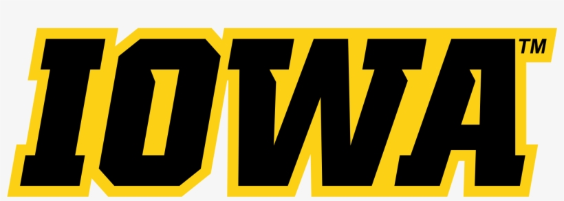 Iowa Hawkeyes Wordmark - Iowa Hawkeyes Transparent Logo, transparent png #646384