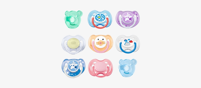 Transparent Pacifier Gothic Jpg Free - Avent 2 Orthodontic Silicone Night Time Soothers 6-18m, transparent png #646511