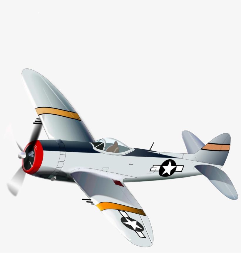 Jet Fighter Clipart Ww2 Plane - Navy Planes Clip Art, transparent png #646804