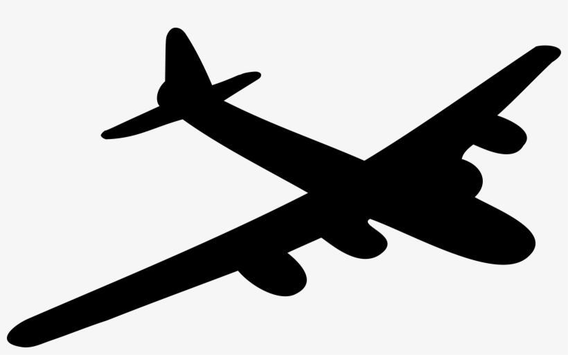 Clip Arts Related To - Bomber Clip Art, transparent png #647399