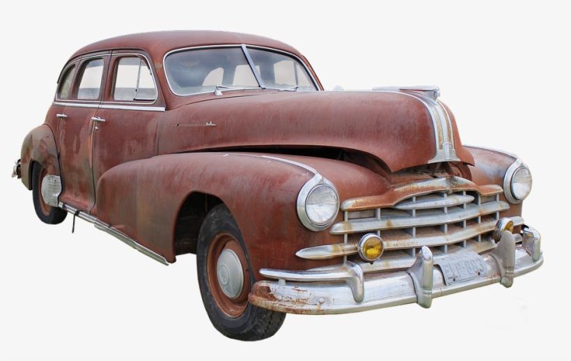 Pontiac, Usa, Wreck, Dare, Corrosion - Old Car Png Hd - Free