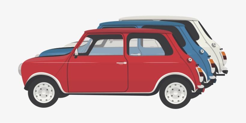 Mini Cooper S - Italian Job 1969 Png, transparent png #648592