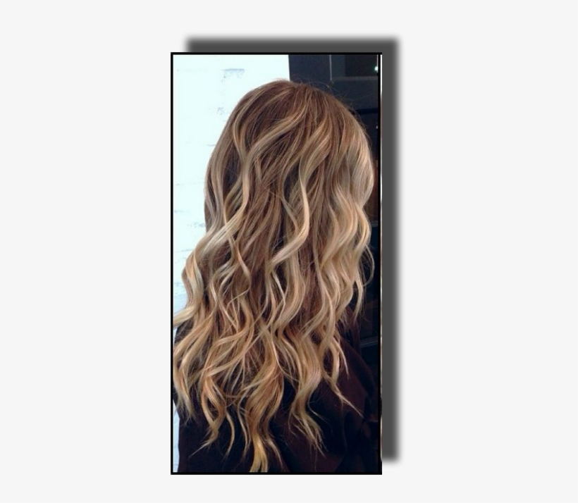 Consist Of Selecting Thin Or Thick Strands Of Hair - Half Head Highlights On Light Brown Hair, transparent png #648700