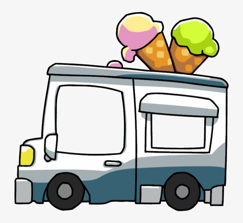 Ice Cream Truck Png, transparent png #649507
