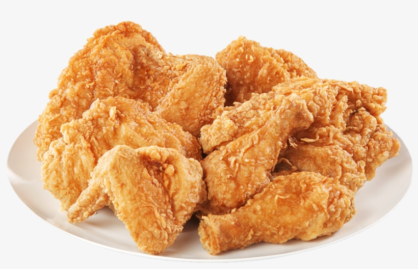 Breaded Bone-in Wings - Fried Chicken Kfc Png, transparent png #6402865