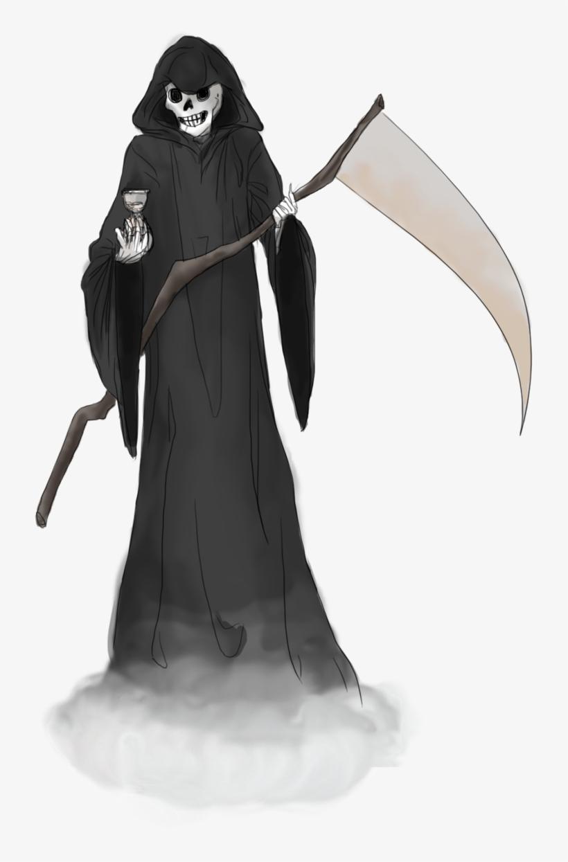 Pin By Stefanie Beierschmitt On Death - Grim Reaper Transparent Background, transparent png #6426308