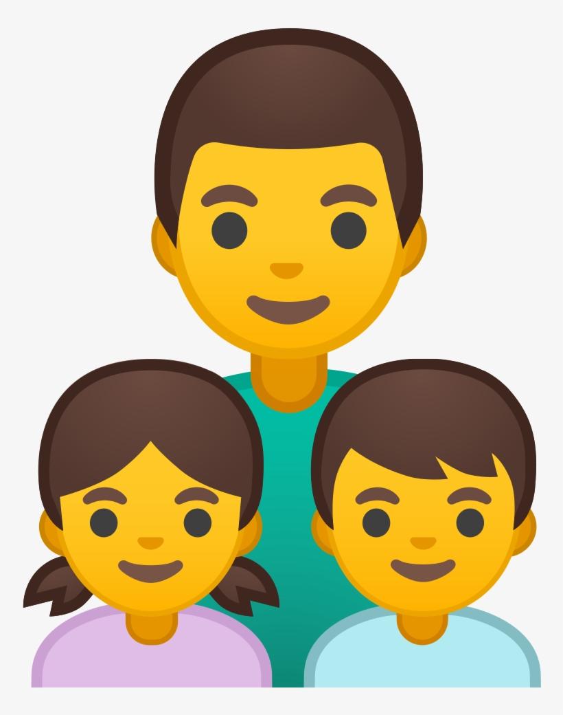 Family Man Girl Boy Icon Noto Emoji People Family Love
